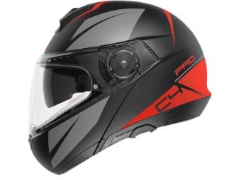 C4 Pro Merak Red Klapphelm