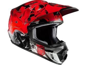 CS-MX II Graffed MC1SF Motocross Helm
