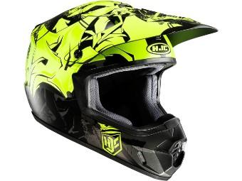 CS-MX II Graffed Motocross Helm