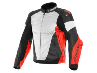 Super Race Lederjacke Gr. 52
