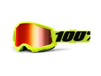 Strata 2 Extra Yellow Motocross Brille