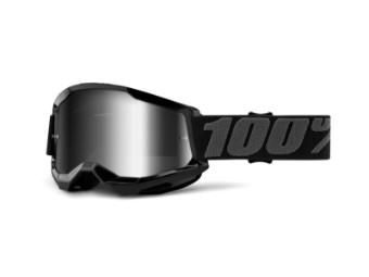 Strata 2 Extra Black MX Goggles