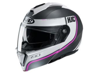I 90 Davan MC8SF Flip Up Helmet