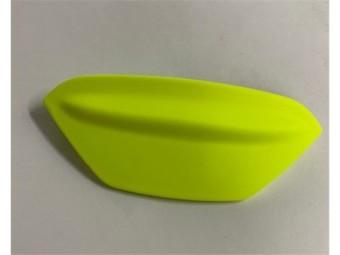 Kinnbelüftungsschieber C4 matt fluo gelb
