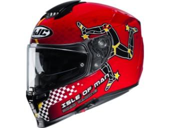 Rpha 70 Isle of Man MC1 Motorradhelm