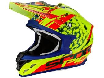 VX-15 Evo Air Kistune Motocross Helm Gr L