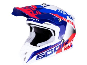 VX-16 Air Arhus Motocross Helm Gr M