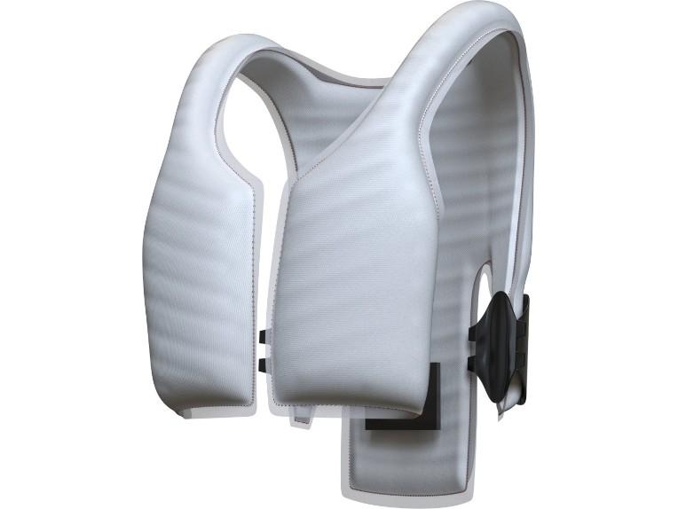 smart jacket back airbag