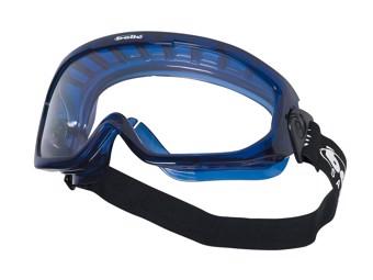 Vollsichtbrille mit verstellb. Kopf band