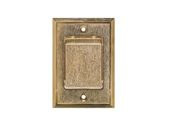 Metall-Saugdose bronze