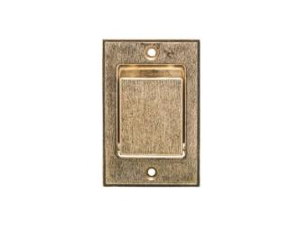Boden-Saugdose bronze