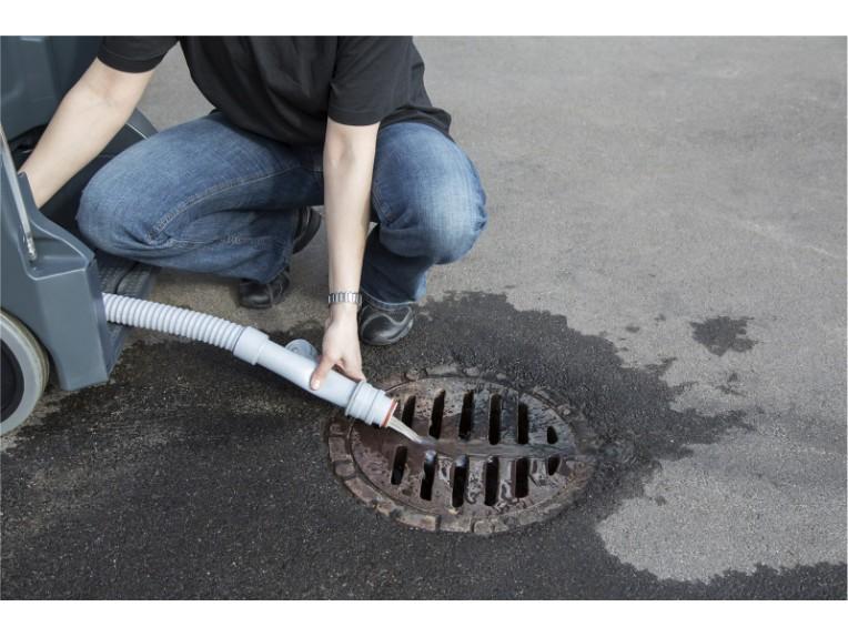 SC1500_empty drain hose