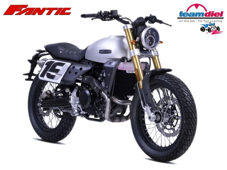 Fantic 125 Caballero Flat-Track, MAI