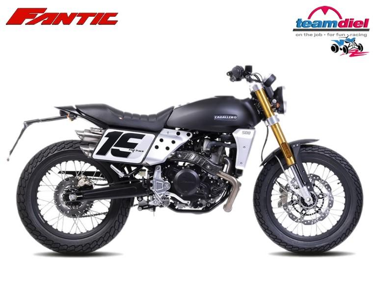 Fantic 125 Caballero Flat-Track, ZFMCA135FMU000349