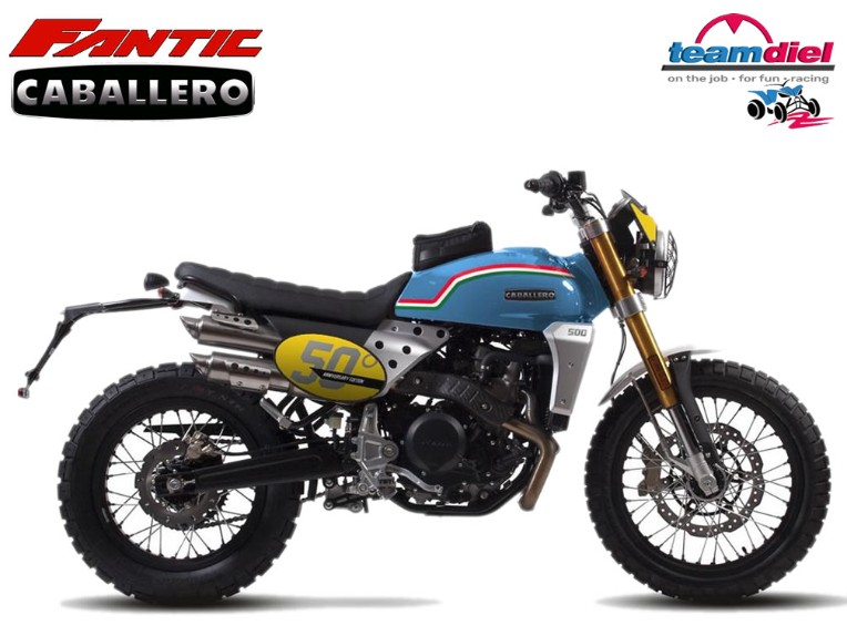 "FANTIC 500 Caballero 50"" Anniversary, ZFMCA501"
