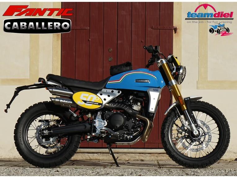 "FANTIC 500 Caballero 50"" Anniversary, ZFMCA501SMU000940"