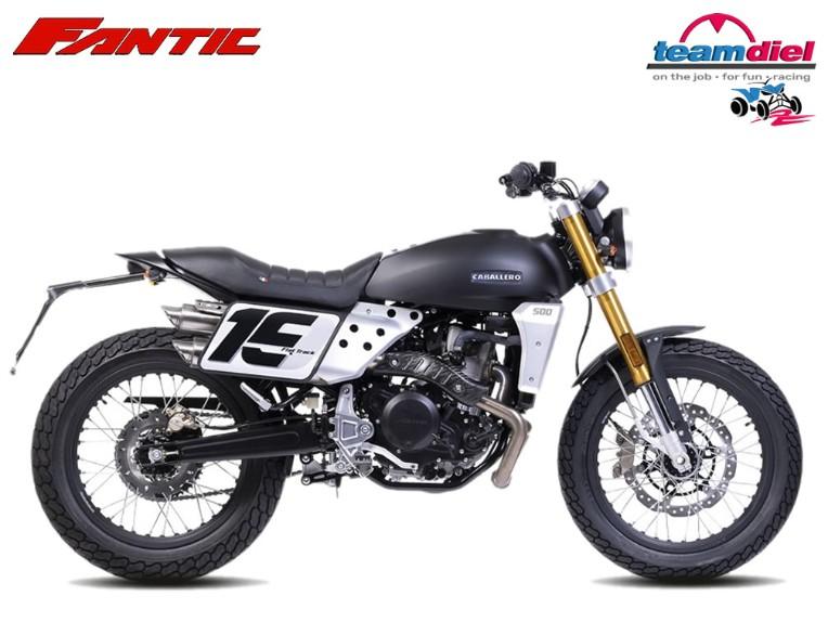 Fantic 500 Caballero FlatTrack, JULI-1-XXX