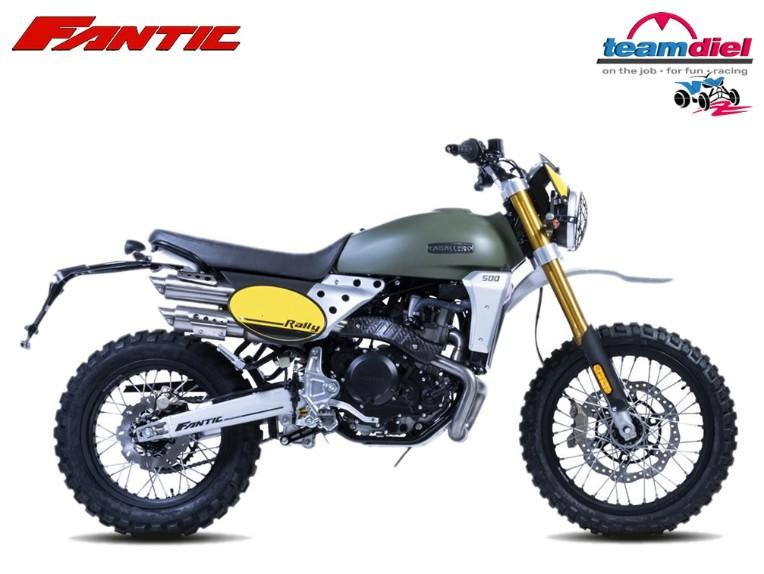 FANTIC 500 Caballero RALLY, ZFMCA500