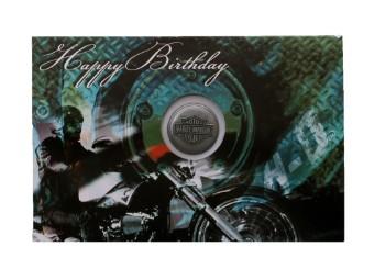 Green Engine Pin & Card Set