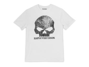 T-Shirt Milwaukee Map Skull II