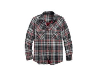 Hemd Double Cloth Plaid