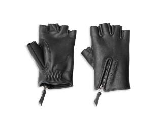 Gloves-F/L,Edge Cut,Leather,BL