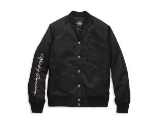 Jacket-Bomber,Woven,black