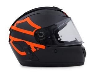 Harley Davidson Boom!™ Audio Full-Face Helm Schwarz N02