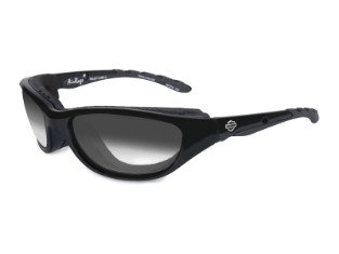 Sonnenbrille HD AIRRAGE LA,  Smoke G Gloss Black