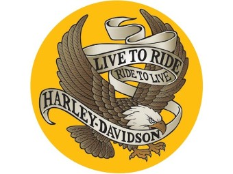 HD Live to Ride Eagle Sign