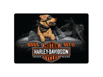 HD Side Dog Sign