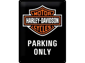Nostalgic - Harley-Davidson Parking Only 30x40