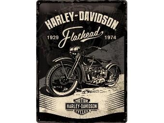 Nostalgic - Harley-Davidson Blechschild Flathead 30x40