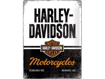 Nostalgic - Harley-Davidson Blechschild 30x40