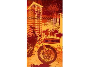 Badetuch Harley Urban Rider