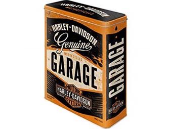 Blechdose Genuine Garage