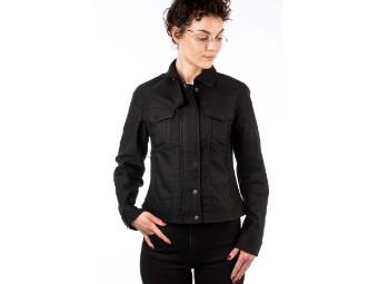 Black Jacket Lady Short