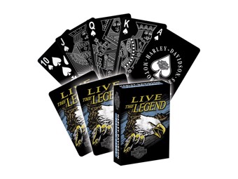 H-D Legend Plastic Playing Cards