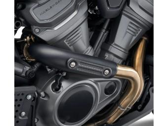 Screamin Eagle® Exhaust Shield Insert - Carbon Fiber