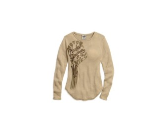 SWEATER-LGHTWGHT,LOOSE KNIT,GR