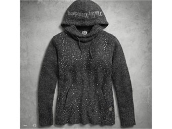 SWEATER-HOODED, PULL OVER,SEQU