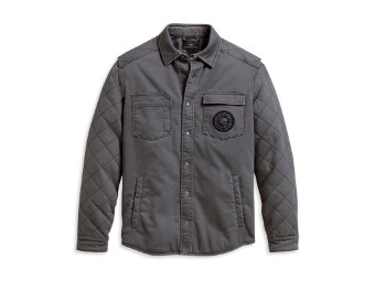 Shirtjacket-Diamond Quilted,WV