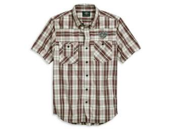 Shirt-S/S,Wvn,Pld