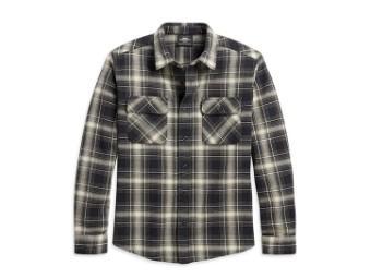 Shirt-Woven,Plaid,Slim