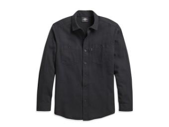 Shirt-Woven,black