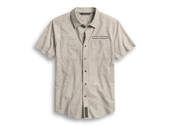 Shirt-Woven,grey