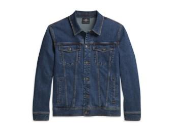Jacket-Denim,Blü