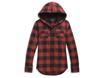 Shirt-Woven,red Plaid