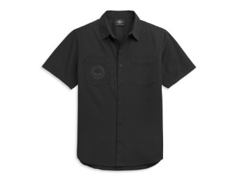 Herren T-Shirt Woven