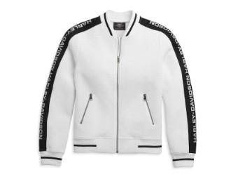 Jacket-Knit,white